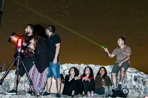 astronomia en monfrague