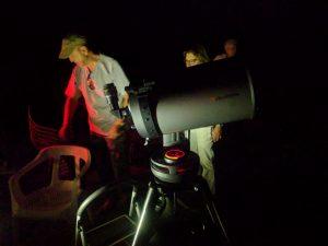 Fotos de salida astronómica
