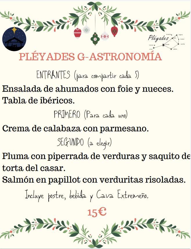 Restaurante Pleyades G-ASTRONOMIA